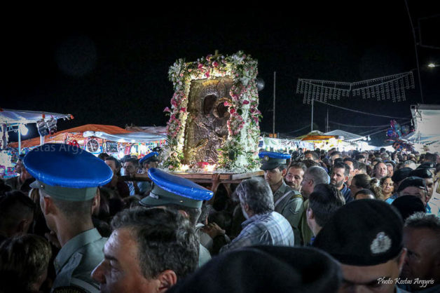 Η γιορτή της Παναγίας στη Νέα Μηχανιώνα Θερμαϊκού