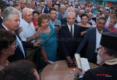Ορκομωσία της νέας διοίκησης στον Δήμο Θερμαϊκού